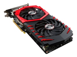 Microstar RX 570 GAMING X 4G Main Image from Right-angle