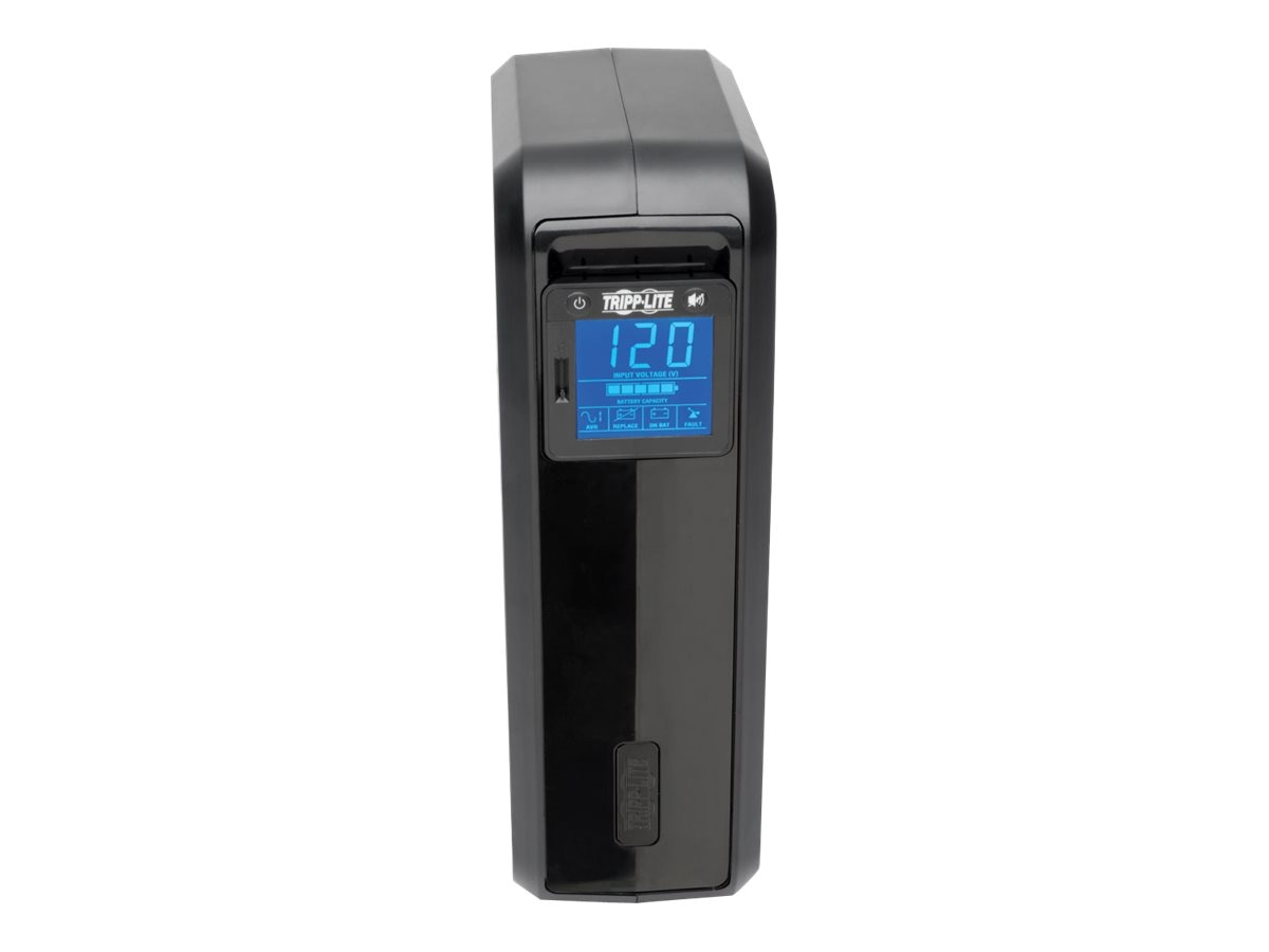 Tripp Lite 1000VA UPS Smart Pro Digital LCD Line-Interactive (8) Outlet, SMART1000LCD, 6023570, Battery Backup/UPS
