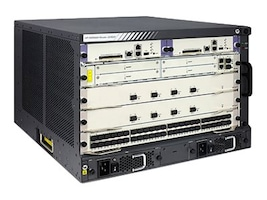 HPE HSR6804 Router Chassis, JG362B, 22430378, Network Routers