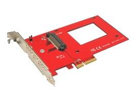 Addonics 2.5 NVMe U.2 PCIe 3.0 2.0 4X Internal Adapter, AD25NVMPX4, 31786561, Drive Mounting Hardware