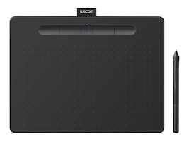 Wacom Medium Bluetooth Creative Pen, Black, CTL6100WLK0, 35064098, Pens & Styluses