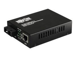 Tripp Lite 10 100 1000BaseT to 1000BaseFX-SC Gigabit Media Converter, N785-001-SC, 11914713, Adapters & Port Converters