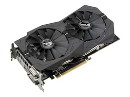 Asus AMD Radeon RX 570 PCIe Overclocked Graphics Card, 4GB GDDR5, ROG-STRIX-RX570-4G-GAMING, 33988326, Graphics/Video Accelerators