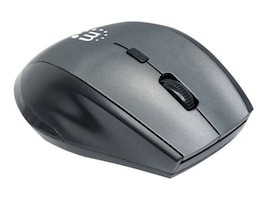 Manhattan Curve Wireless Optical USB Mouse (5) Button w  Scroll Wheel, 179379, 32661567, Mice & Cursor Control Devices