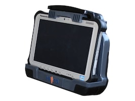 Havis Vehicle Dock w Dual Pass-Thru for Toughbook FZ-G1 Tablet, DS-PAN-701-2, 35119052, Docking Stations & Port Replicators