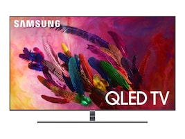 Samsung 54.5 Q7FN QLED 4K Ultra HD QLED Smart TV, Silver, QN55Q7FNAFXZA, 35712809, Televisions - Consumer