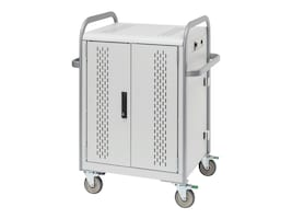 Bretford Manufacturing Pulse S Charging Cart for 30 Devices w  Rear Doors, MDMTAB30-CTAL, 15996040, Charging Stations