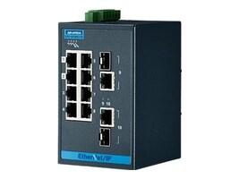 Quatech Advantech EKI-5629CI-EI DIN RM WM Managed Switch 8xFaE 2xGbE 2xGbE SFP, EKI-5629CI-EI-AE, 35165690, Network Switches