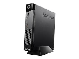 Lenovo TopSeller ThinkCentre M53 Tiny Thin Client Celeron DC J1800 2.4GHz 4GB 8GB Flash GbE bgn LeTOS, 10ED0009US, 21248849, Thin Client Hardware