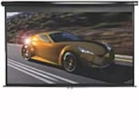 Open Box Elite Manual Pull-Down Projection Screen, Matte White, 1:1, 71 with Black Case, M71UWS1, 33784382, Projector Screens