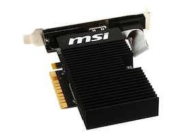 MSI Computer GT 710 1GD3H LPV1 Main Image from Right-angle