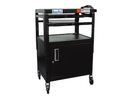 Buhl AV AV and Multimedia Cart, Adjustable, CABT4226E-5, 11276011, Computer Carts