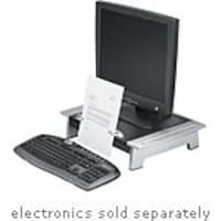 Scratch & Dent Fellowes Office Suites Standard Monitor Riser Plus with Copyholder, 8036601, 35114817, Stands & Mounts - AV