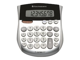 TI TI-1795 SV Minidesk Solar Calculator, TI-1795SV, 7001111, Calculators
