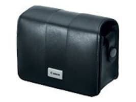 Canon Deluxe Leather Case, Black, 3527B001, 9119227, Carrying Cases - Camera/Camcorder