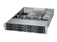 Supermicro CSE-826BA-R920LPB Main Image from Right-angle