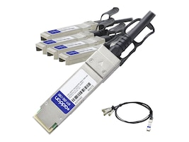 ACP-EP Memory CBL-QSFP-4X10GSFP-PASS-5M-AO Main Image from Front