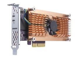 Qnap DUAL M.2 22110 2280 PCIE SSD EXINT TS-X53B TS-563 TVS-X63 TS-X63U, QM2-2P, 34724710, Solid State Drives - Internal