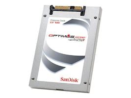 SanDisk 400GB Optimus Ascend SAS 6Gb s 19nm MLC 2.5 Internal Solid State Drive, SDLKODDM-400G-5CA1, 17395301, Solid State Drives - Internal