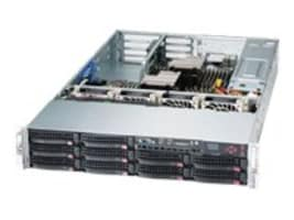 Supermicro Barebone, SuperServer 6027R 2U RM (2x)Xeon E5-2600 Family Max.768GB DDR3 2x10GbE 10x3.5 Bays 2x920W, SYS-6027R-72RFTP+, 16028041, Barebones Systems