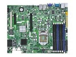 Supermicro Motherboard, 3420, Xeon X3400, ATX, Max 32GB DDR3, PCIEX8, PCIEX4, PCI, 2GBE, Vid, SAS SATA, IPMI, X8SI6-F-O, 10757744, Motherboards