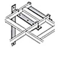 Black Box Wall Angle Support Brackets, Black, RM655, 7555826, Premise Wiring Equipment