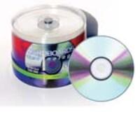 Microboards 16X Taiyo Yuden Silver Lacquer Thermal Hub Printable DVD-R Media (600 case), DVD-ZZ100SB16, 7576230, DVD Media