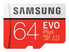 Samsung 64GB EVO PLUS MEMORY CARD, MB-MC64HA/AM, 41054654, Memory - Flash