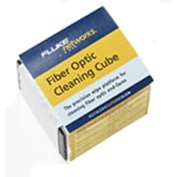 Fluke Fiber Optic Cleaning Cube with Wipers, NFC-CUBE, 7584686, Cleaning Supplies