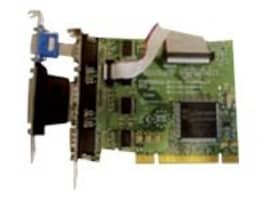 Brainboxes 4xRS232 PCI Serial Port Card (3x9 pin ports + 1x9 pin port) with LPT Parallel Port for Printer, UC-414, 15251304, Controller Cards & I/O Boards