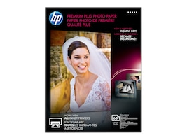 HP 5 x 7 Premium Plus Glossy Photo Paper (60 Sheets), CR669A, 12896748, Paper, Labels & Other Print Media