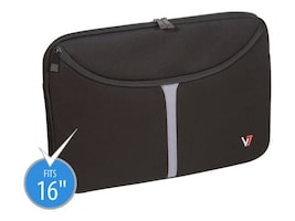 V7 Professional 16 Laptop Sleeve, CSP1-9N, 11279748, Carrying Cases - Notebook