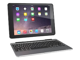 Zagg Slim Book Keyboard Case for iPad Air 2, ID6ZF2-BB0, 18322737, Carrying Cases - Tablets & eReaders