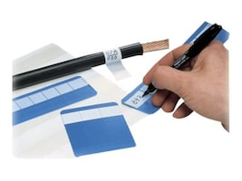 Panduit .375 x 1.5 x .75 Marker Cards (25 Cards), PSWM-375Y, 36051150, Paper, Labels & Other Print Media