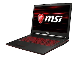 MSI GL73-8RC032 Core i7-8750H 2.6GHz 16GB 1TB+128GB ac BT WC GTX 1050 4GB 17.3 FHD W10, GL738RC032, 35389853, Notebooks