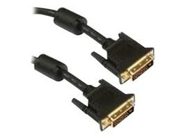 Unirise DVI-D Dual Link Cable, M-M, Black, 15ft, DVID-MM-15F, 13408849, Cables