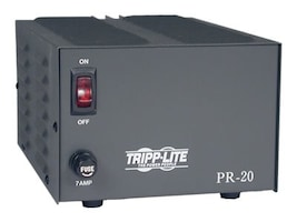 Tripp Lite 20-Amp DC Power Supply 120VAC Input to 13.8VDC Output, PR20, 5448373, AC Power Adapters (external)