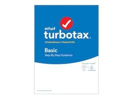 Intuit Turbotax Basic 2019 DVD, 607289, 37871310, Software - Tax & Legal
