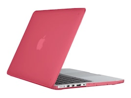 Speck SmartShell Case for Macbook Air 13in, Rose Pink, 86370-6011, 32837631, Carrying Cases - Other