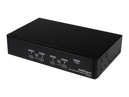 StarTech.com 4-Port USB DisplayPort KVM Switch with Audio, SV431DPUA, 11126071, KVM Switches