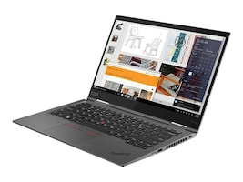 Lenovo ThinkPad X1 Yoga G4 Core i7-8665U 1.9GHz 16GB 1TB PCIe ac BT FR 2xWC 14 UHD MT W10P64, 20QF000CUS, 37195374, Notebooks - Convertible