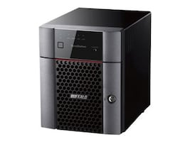 BUFFALO TeraStation 3410DN Desktop 16TB NAS Hard Drives Included, TS3410DN1604, 33591530, Network Attached Storage