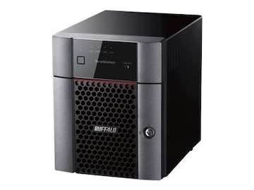 BUFFALO 16TB TeraStation 3410DN 4-Bay Desktop NAS, TS3410DN1604, 33591530, Network Attached Storage