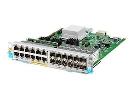 HPE Gigabit Ethernet PoE+ Plug-in Expansion Module 12xGbE PoE+ 12xGbE SFP, J9989A, 20020295, Network Adapters & NICs