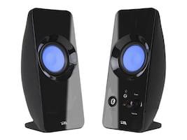 Cyber Acoustics Bluetooth 2.0 SSpeaker System w  LED Light Effect & AC Adapter w  USB, CA-2806BT, 35884758, Speakers - Audio