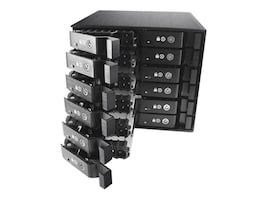 Vantec EZ Swap M2500 Series 12-Bay 2.5 Mobile Rack, MRK-M2512T, 17433996, Drive Mounting Hardware