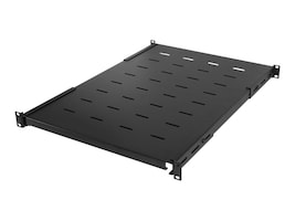 CyberPower Carbon Rack Shelf 1U x 25.6 to 32.7 Heavy Duty Shelf, Black, CRA50005, 33221205, Rack Mount Accessories