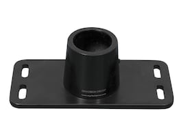 Ergotech Flush Mount Plate for 100 Series, Black, A00103, 18662299, Mounting Hardware - Miscellaneous