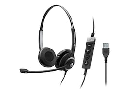 Sennheiser SC 260 USB CTRL II Professional Wired Double Sided Headset, 506481, 31446582, Headsets (w/ microphone)