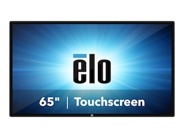 ELO Touch Solutions 64.5 6553L 4K Ultra HD LED-LCD TouchPro PCAP Anti-Glare Touchscreen Display, E215435, 37627552, Monitors - Large Format - Touchscreen